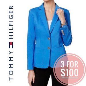 Tommy Hilfiger Notch Blue Blazer